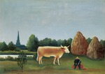 Rousseau, Henri Julien Félix - Scene in Bagneux on the Outskirts of Paris