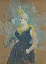 Toulouse-Lautrec, Henri, de - The Clownesse Cha-U-Kao