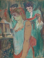Toulouse-Lautrec, Henri, de - Tattooed Woman