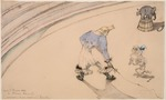 Toulouse-Lautrec, Henri, de - At the Circus: Clown Footit
