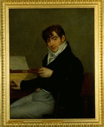 Gros, Antoine Jean, Baron - Portrait of the composer Pierre-Joseph-Guillaume Zimmermann (1785-1853)