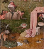 Bosch, Hieronymus - Allegory of Gluttony (Allegory of Intemperance. Allegory of Gluttony and Lust)
