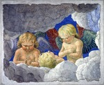 Melozzo da Forli - Group of angels
