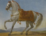 Gros, Antoine Jean, Baron - Marengo, the horse of Napoleon I of France