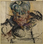 Boccioni, Umberto - Head study. Mother