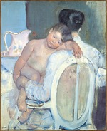 Cassatt, Mary - Woman Sitting with a Child in Her Arms