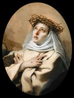 Tiepolo, Giambattista - Saint Catherine of Siena