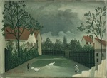 Rousseau, Henri Julien Félix - The Poultry Yard