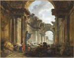 Robert, Hubert - Imaginary View of the Grand Gallery of the Louvre in Ruins
