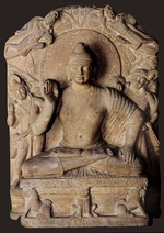 Central Asian Art - Seated Buddha