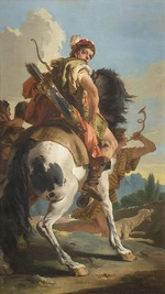 Tiepolo, Giambattista - Hunter on Horseback