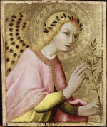 Sano di Pietro - The Angel of the Annunciation