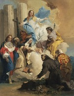 Tiepolo, Giambattista - The Virgin with Six Saints