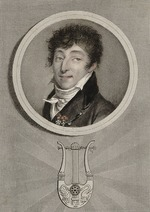 Saint-Aubin, Augustin, de - Portrait of the composer Henri-Montan Berton (1767-1844)