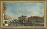 Guardi, Francesco - The Rialto Bridge with the Palazzo dei Camerlenghi in Venice