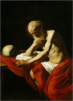 Caravaggio, Michelangelo - The Penitent Saint Jerome