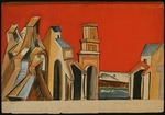 Lentulov, Aristarkh Vasilyevich - Stage design for the theatre play The Spanish Curate by John Fletcher