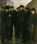 Zeller, Rudolf Jacob - Unemployed (Day Laborers at the Port of Hamburg)