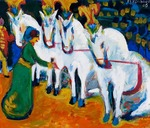 Kirchner, Ernst Ludwig - Circus horses dressage