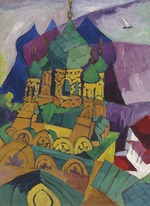 Lentulov, Aristarkh Vasilyevich - Church in Alupka