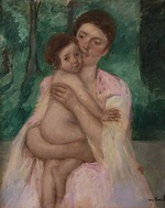 Cassatt, Mary - Woman with a Child in Her Arms