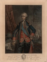Anonymous - Portrait of Charles Hector, comte d'Estaing (1729-1794)