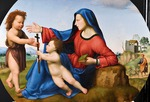 Bugiardini, Giuliano - Madonna and Child with the Young John the Baptist