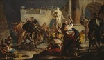Tiepolo, Giambattista - The Rape of the Sabine women