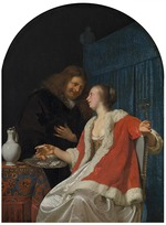 Mieris, Frans van, the Elder - The Oyster Meal