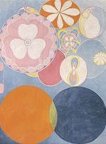 Hilma af Klint - Group IV, No. 2. The Ten Largest, Childhood