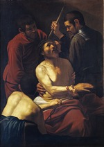 Caravaggio, Michelangelo - Christ Crowned with Thorns