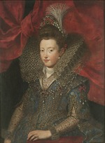 Pourbus, Frans, the Younger - Portrait of Margherita Gonzaga (1591-1632), Duchess of Lorraine