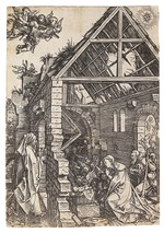 Dürer, Albrecht - The Nativity of Christ, from the series The Life of the Virgin