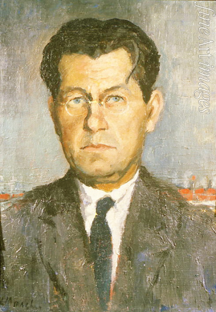 Malevich Kasimir Severinovich - Portrait of the artist's brother