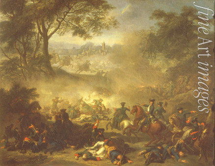 Nattier Jean-Marc - The Battle of Lesnaya
