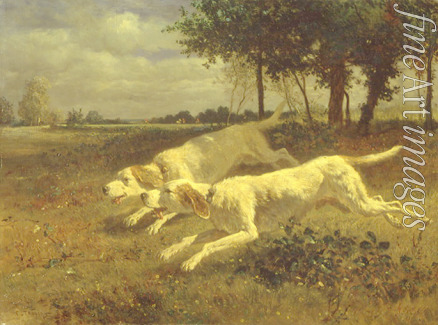 Troyon Constant - Running dogs