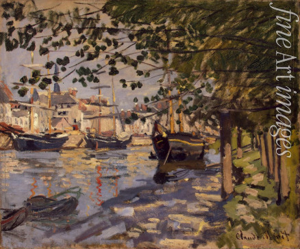 Monet Claude - Seine at Rouen