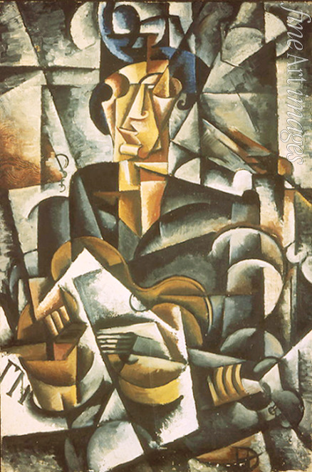 Popova Lyubov Sergeyevna - Woman with a guitar