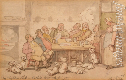 Rowlandson Thomas - Dog Fighters Club