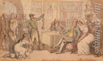 Rowlandson Thomas - Justice of the Peace
