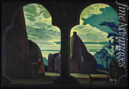 Roerich Nicholas - Stage design for the opera Tristan and Isolde by R. Wagner