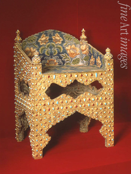 Iranian master - Throne of the Tsar Boris Godunov