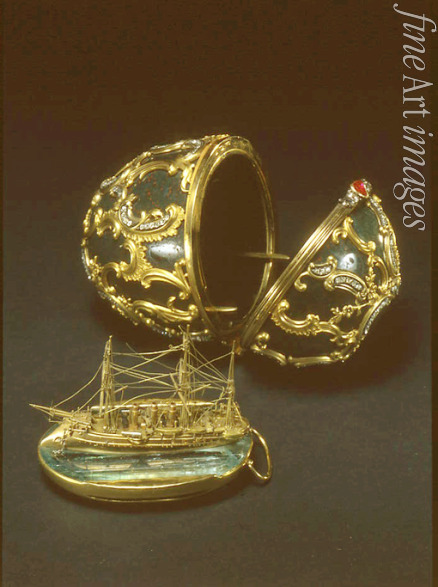 Perkhin Michail Yevlampievich (Fabergé manufacture) - The Memory of Azov Egg