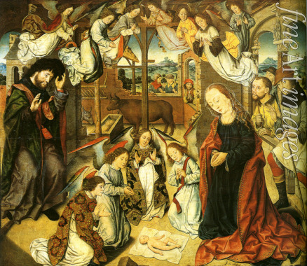 Bouts Aelbrecht - The Adoration of the Shepherds