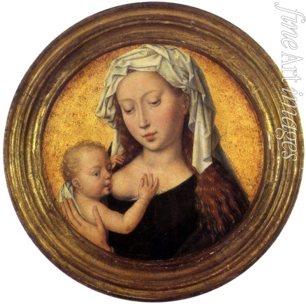 Memling Hans - Tthe Virgin suckling the Child