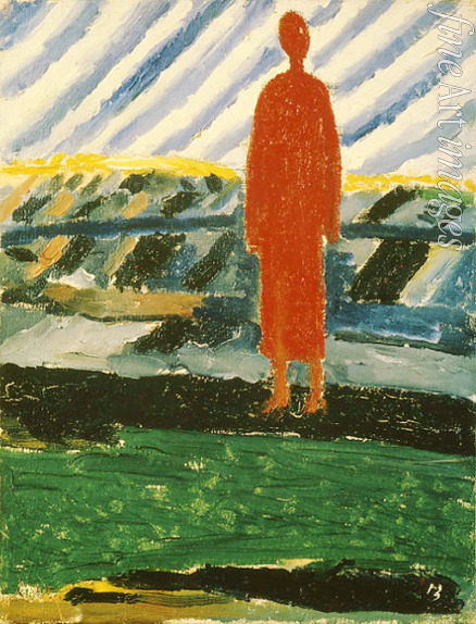 Malevich Kasimir Severinovich - A red figure