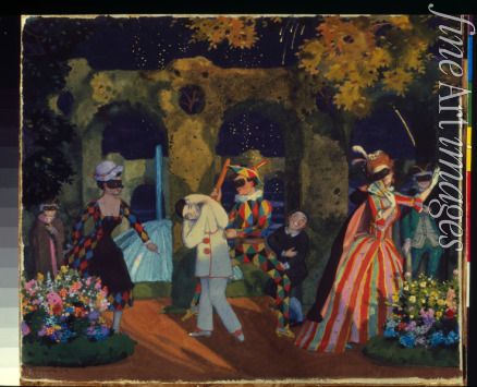 Somov Konstantin Andreyevich - The Italian Comedy (Commedia dell'arte)