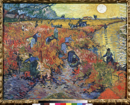 Gogh Vincent van - The red vineyards at Arles