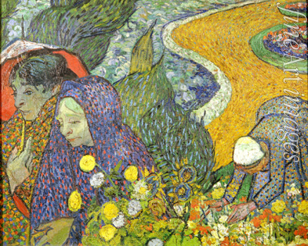 Gogh Vincent van - Women of Arles (Memory of the Garden at Etten)