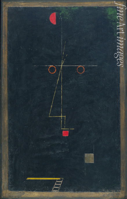 Klee Paul - Portrait of an Equilibrist